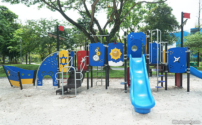 Pirate Playground at Bishan Ang Mo Kio Park