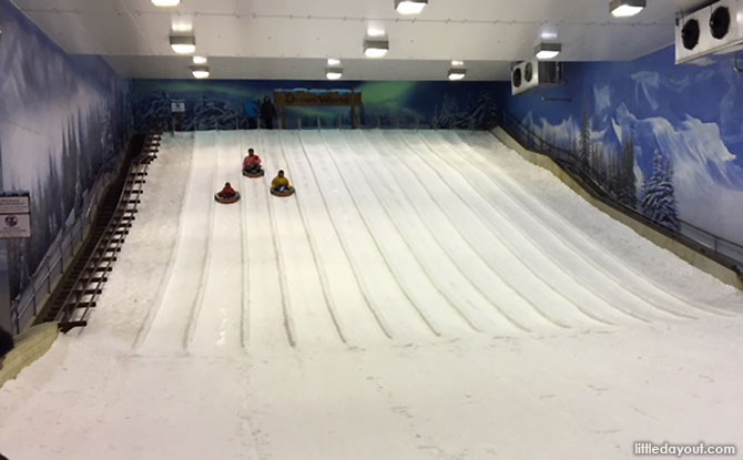 Slides at Snow Town