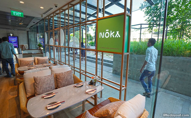 Noka, restaurant at Funan Mall