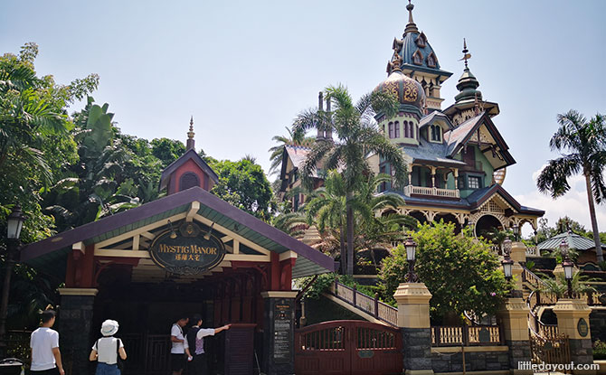 Mystical Manor, Hong Kong Disneyland
