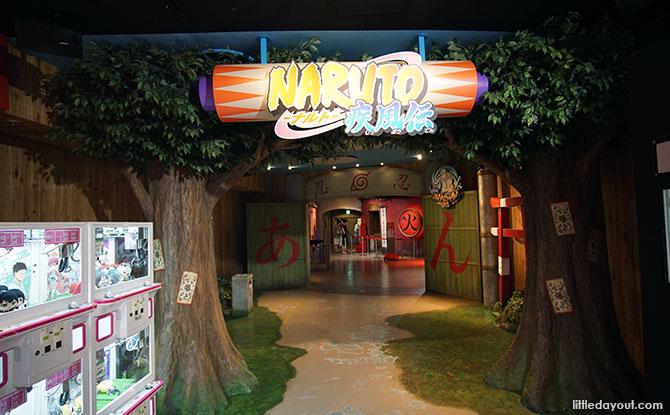 Naruto Area, J-World Tokyo
