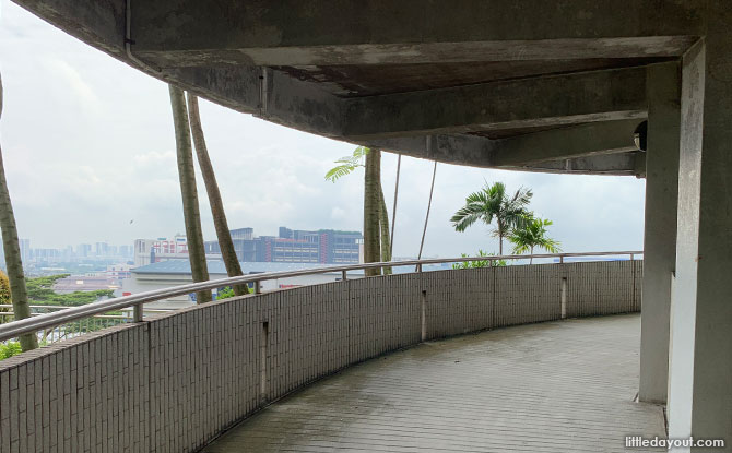 Jurong Hill Park's Lookout Tower Ramp