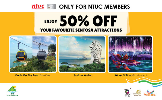 NTUC Card Member Discount - How to Experience Sentosa from a Bird's Eye Perspective - and Save Money with NTUC Cards While Doing So - Ways To Enjoy Savings During the Year-end Holiday Season 2018
