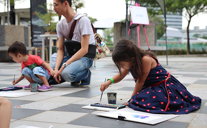 The Big Draw at Playeum, Singapore