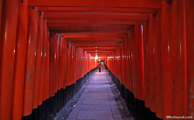 Torri Gates Fushimi Inari Shrine