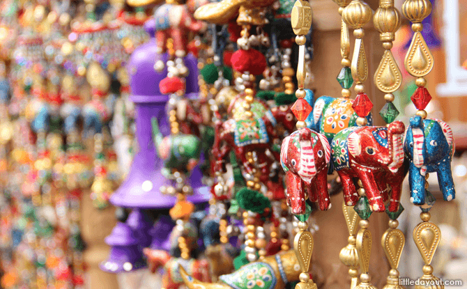Trinkets at Little India - Visiting Little India with kids