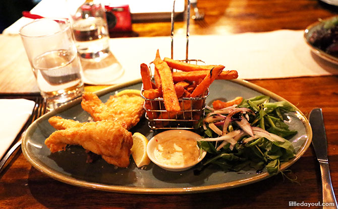 Beer Battered Barramundi