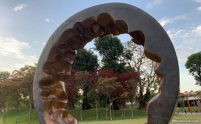 Moon Gate Sculpture