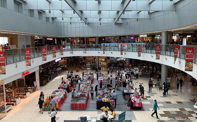 Alexandra Retail Centre Atrium