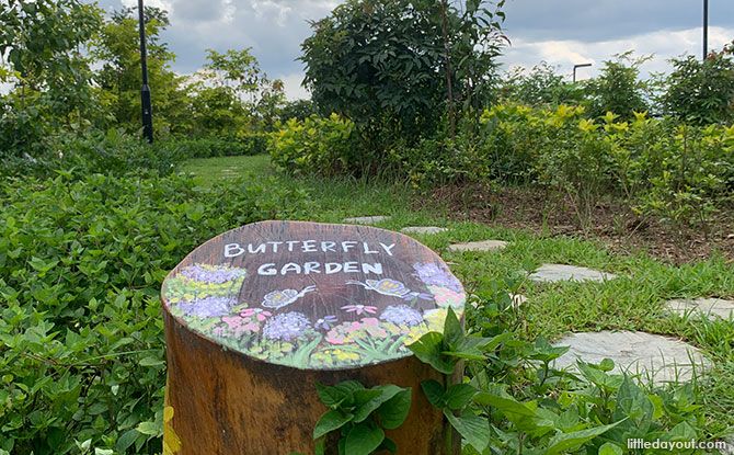 Butterfly Garden at Bukit Gombak Park