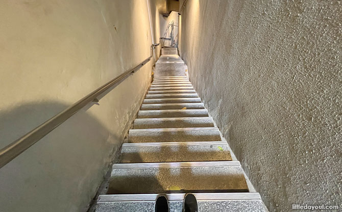 How the hidden staircase got its name