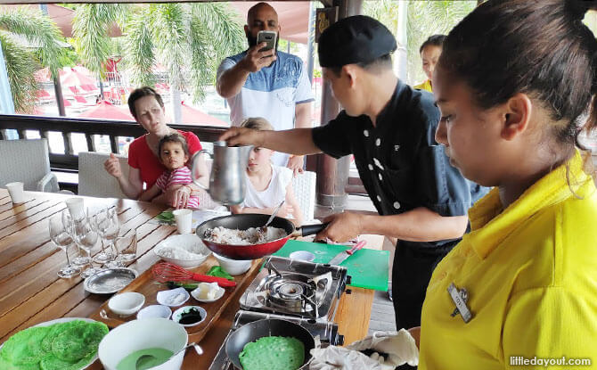 Cooking activities in Club Med Bali