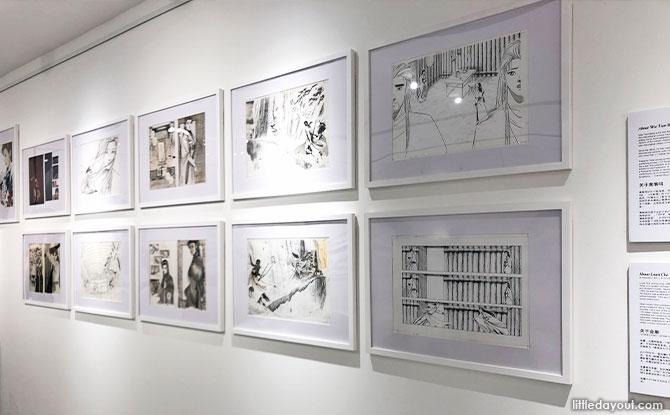 framed original artworks