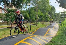 Cyclist Park At East Coast Park: Cycling Circuits, Nature Playgarden And Eateries By The Sea