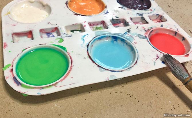 DIY Non-Toxic Paint Method One