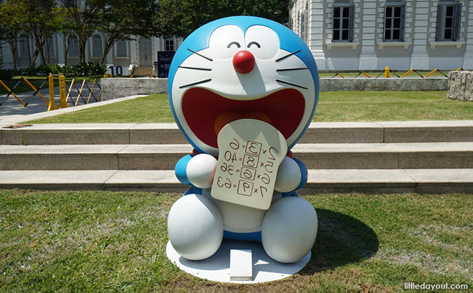 Doraemon Photo Spots at NMS
