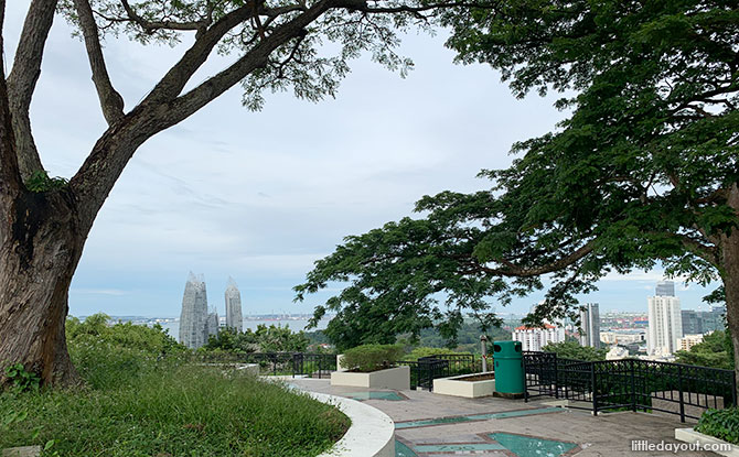Summit of Mount Faber