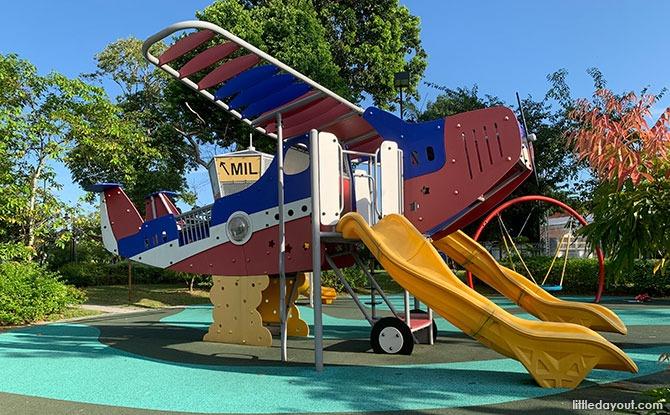 The Oval Aeroplane Playground