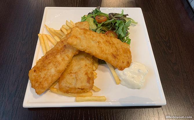 Food at Hanger66 Cafe