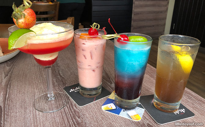 """Cocktails and Mocktails On Hard Rock's """"Back to Classic"""" Limited-Time Only Menu"""