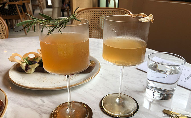 Hathaway Rosemary and Ginger Ale Drink