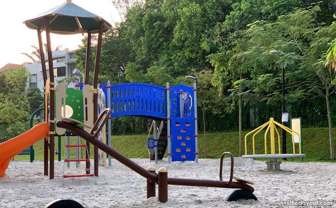 Holland Green Linear Park Playground Merry Go Round