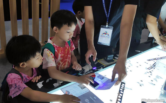 Kids activities at the Home Team Festival 2019, Singapore Expo