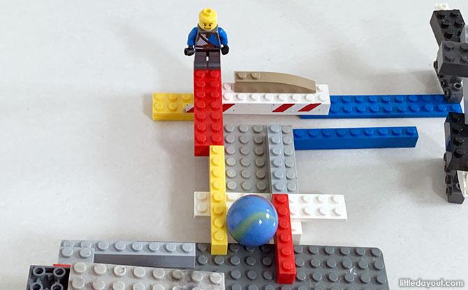 Building the LEGO coaster