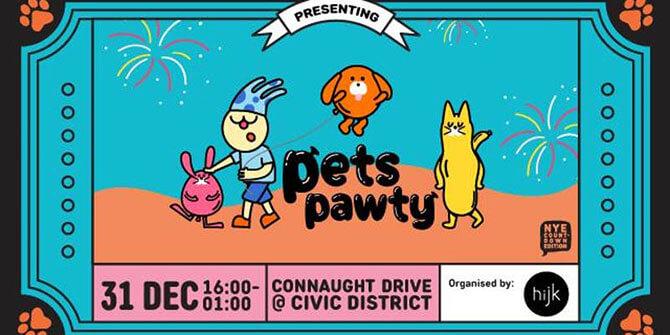 Unwind @ Civic District: Pets Pawty