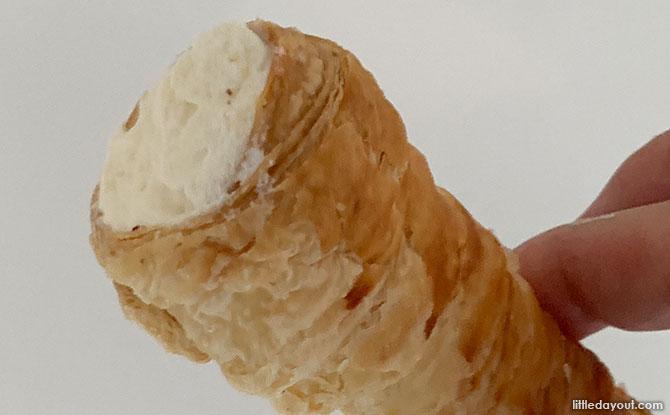 Butter Cream Horn