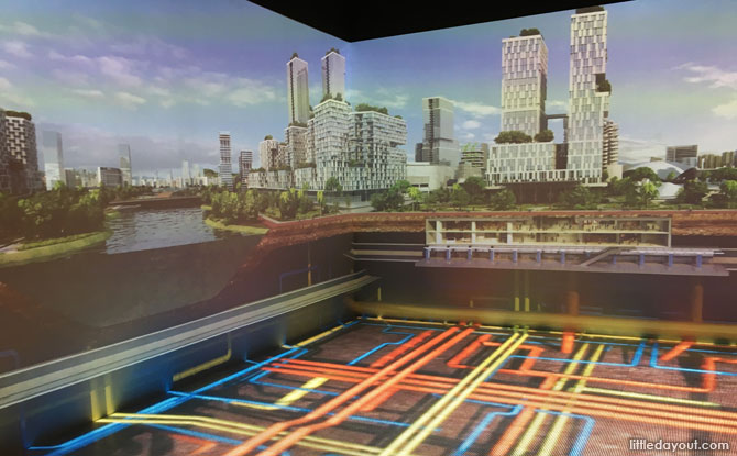 Interactive exhibit at revamped Singapore City Gallery