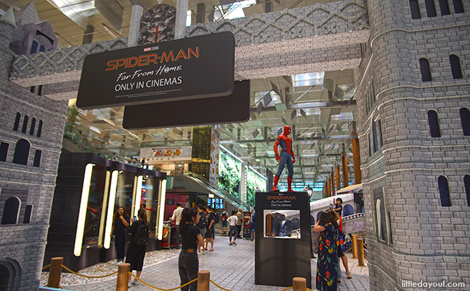 Spider-Man Far From Home Exhibition at Changi Airport Terminal 3