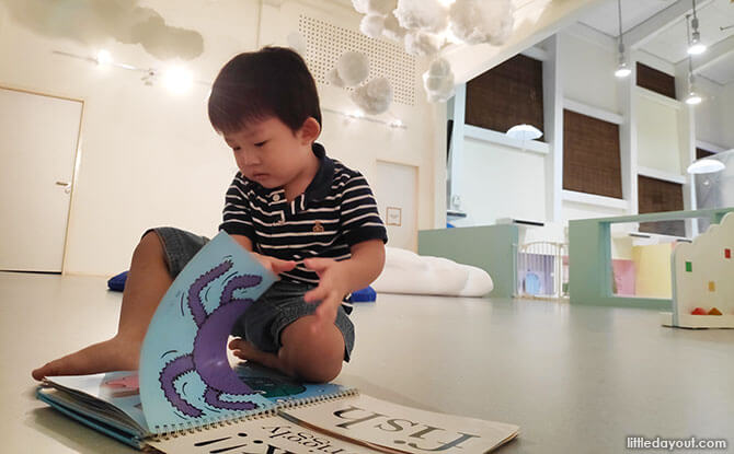 A Sensory Playground at Baby Stage