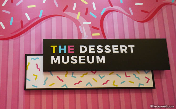 The Dessert Museum Pop-up at Plaza Singapura