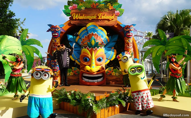 Minions and Gru from Illumination's Despicable Me