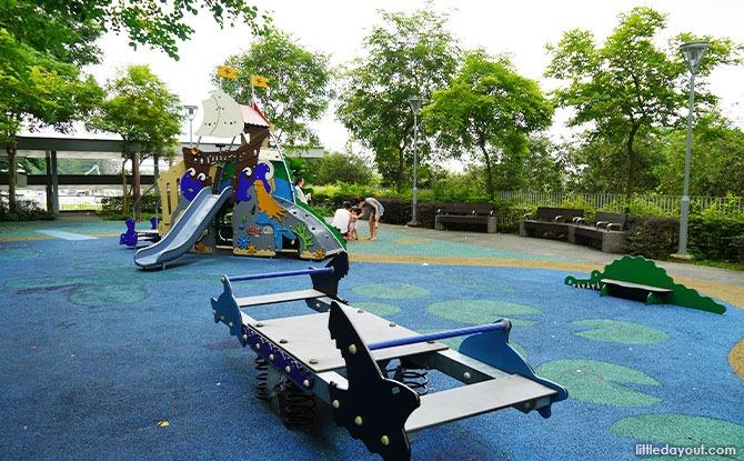 Waterway Cascadia pirate playground