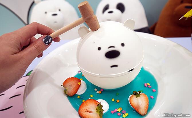 Knock-Knock Ice Bear Choco Ball of Fun