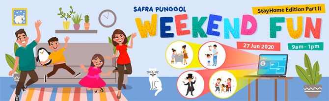 SAFRA Punggol Weekend Fun (StayHome Edition Part II)