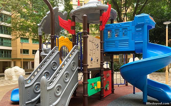 HDB Playground in Woodlands