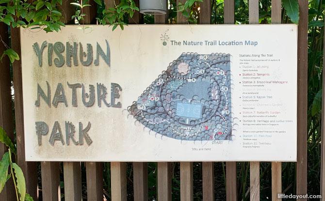 Yishun Nature Park: Native Nature Collection & Playground