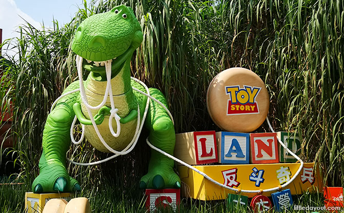 Toy Story Land in Hong Kong Disneyland