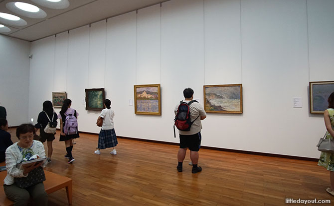 Inside the National Museum Of Western Art In Tokyo, Japan