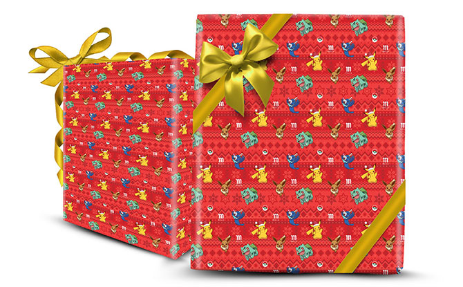 exclusive Pokémon-themed gift wrapper