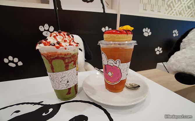 Snoopy Cafe Drinks