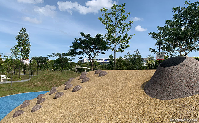 Ang Mo Kio Linear Park Playground Features