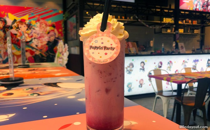 Poppin'Party's Strawberry Latte