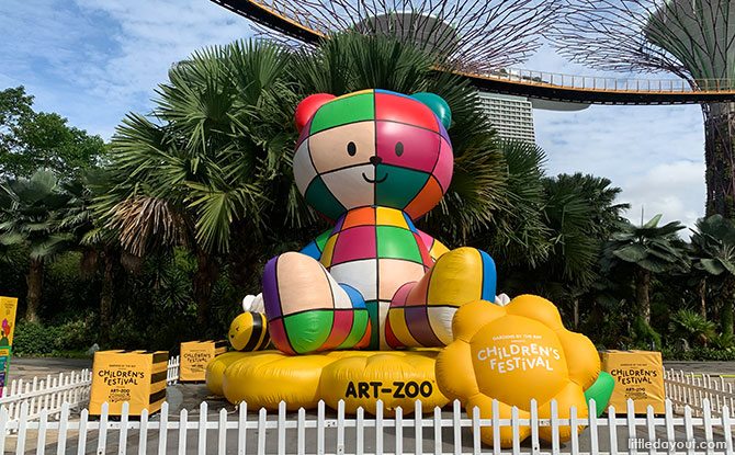 Children's Festival At Gardens By The Bay: Go On A Trail At The Art-Zoo Wonder Gardens