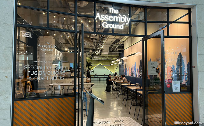 The Assembly Ground At The Cathay: Good Food, Coffee And Vibes