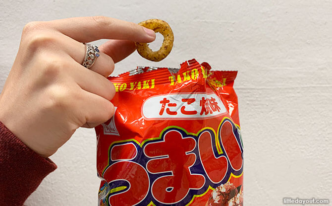 Takoyaki Snacks from Daiso Vivocity