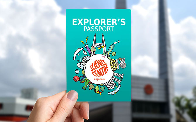 Explorer's Passport - Travel Around the World and Receive a Free Souvenir
